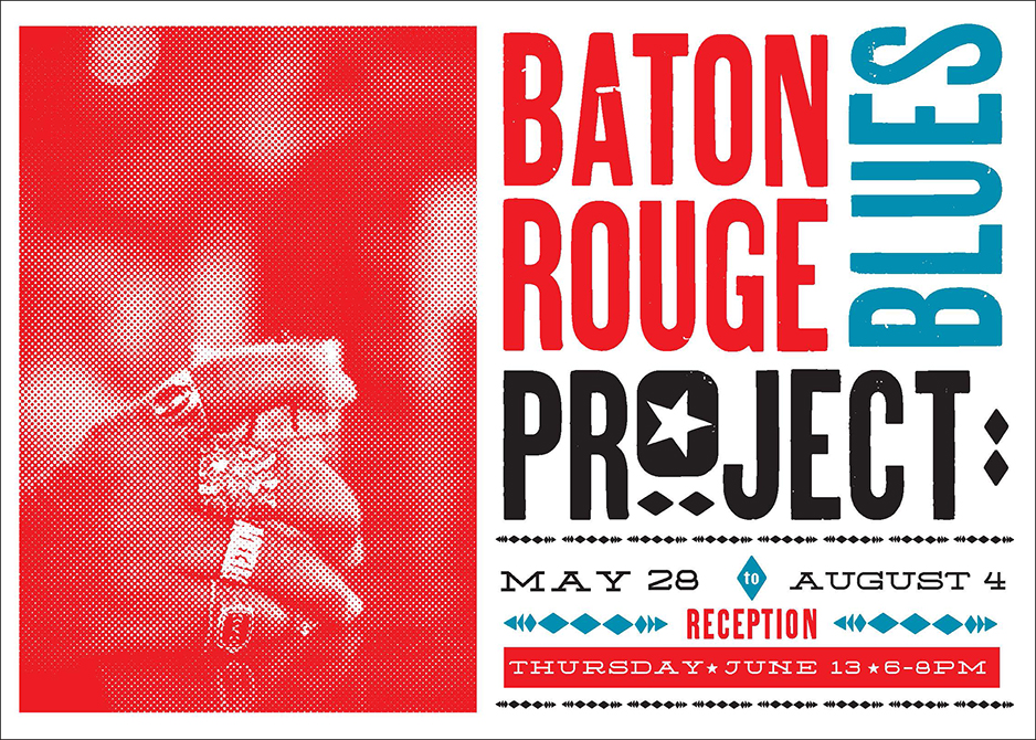 Poster advertising the Baton Rouge Blues Project