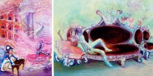 bridget parris acrylic painting