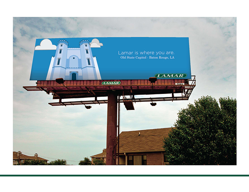 lamar advertising competition billboard realized