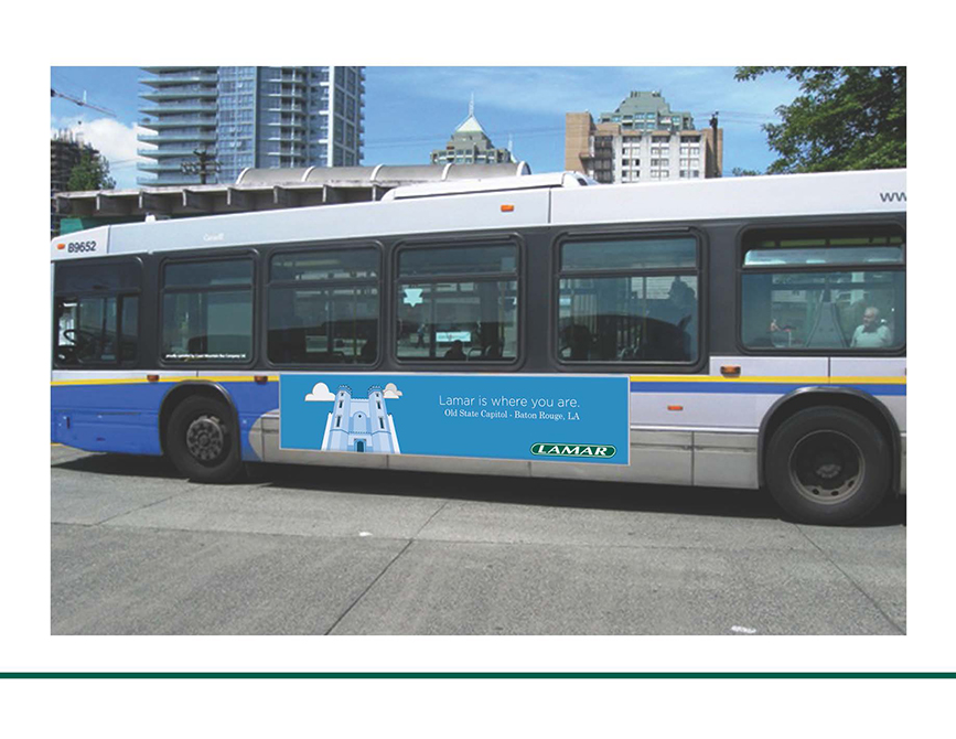 lamar advertising competition bus