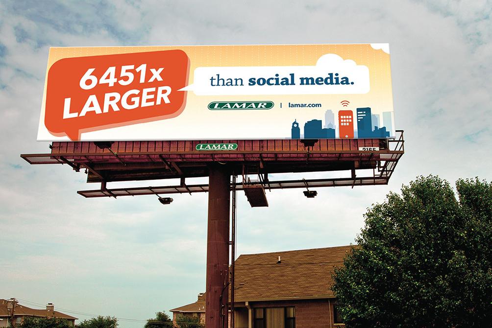lamar advertising competition social media