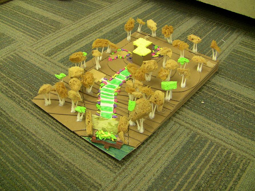 lsu landscape architecture camp pathway model