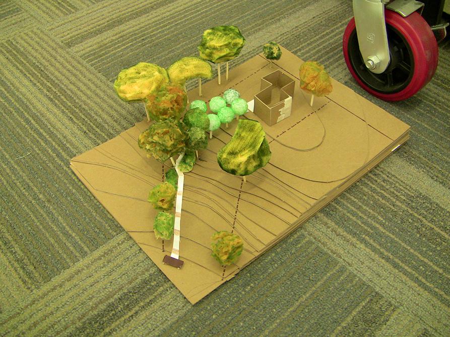 landscape architecture model