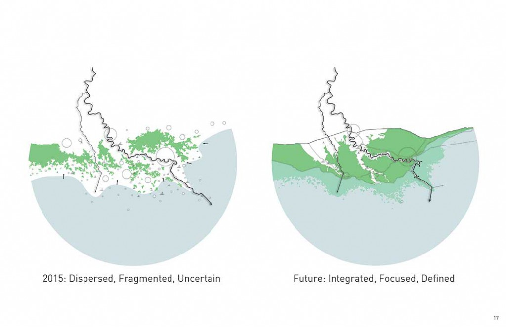 coastal future map, changing course design competition