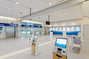 Terminal A at Dallas/Ft. Worth International Airport (DFW), one of Bateman's projects at Corgan.
