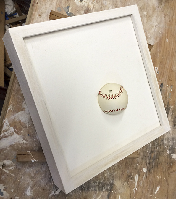 joey tipton, baseball in drywall