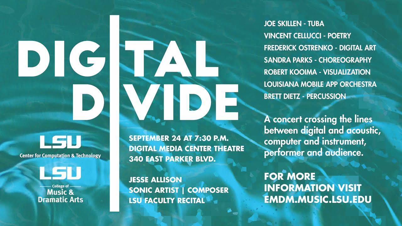 digital divide poster