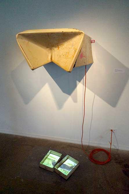 The Universe is Against You, 2015, lsu sculpture alumni
