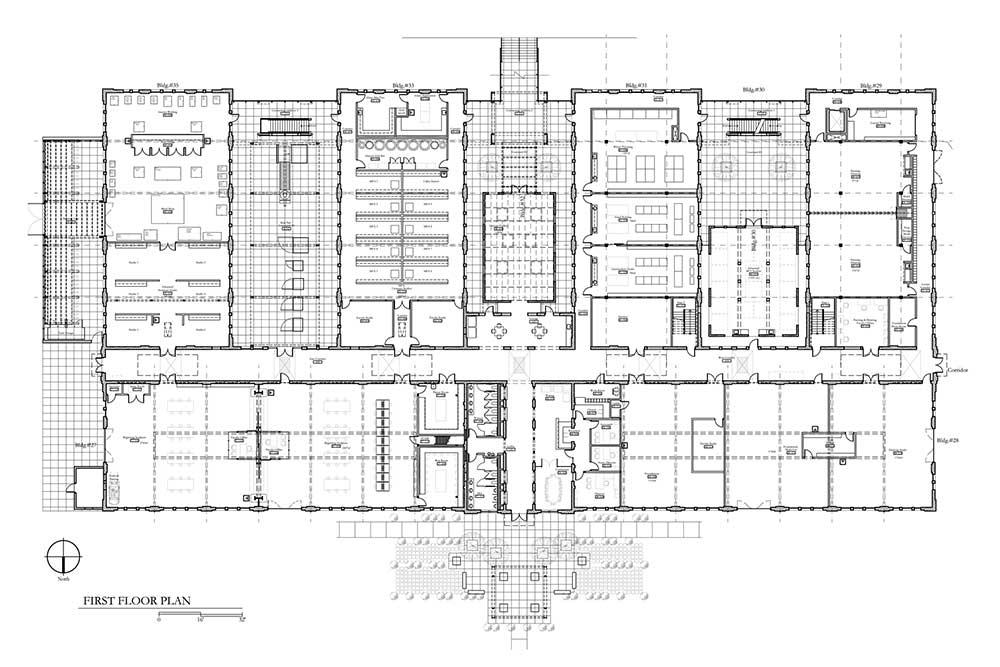 lsu studio arts building floor plans