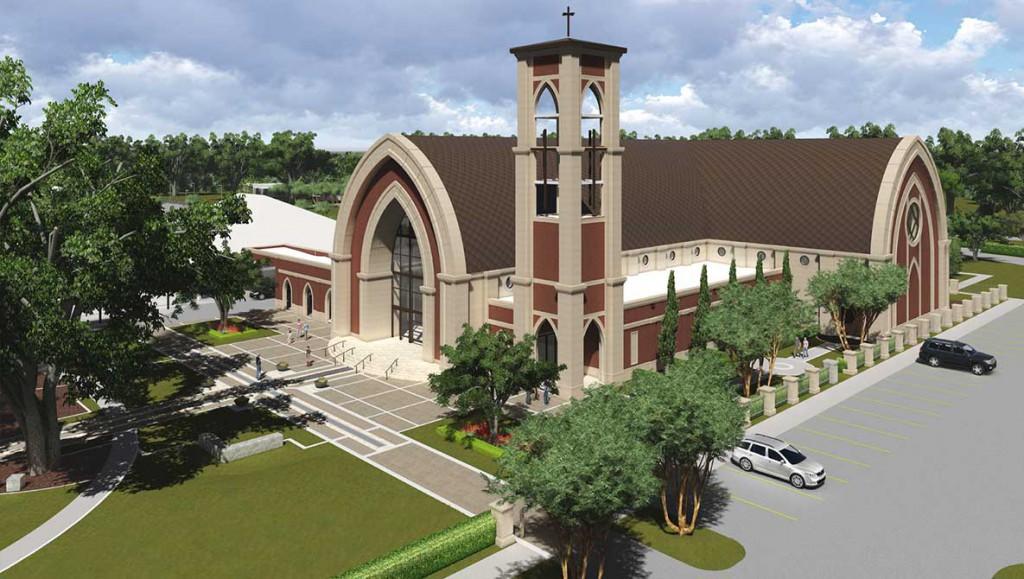 david hebert catholic church render