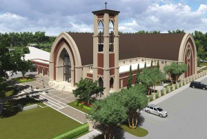 St. George Catholic Church - new church to serve as a beacon for the Catholic community