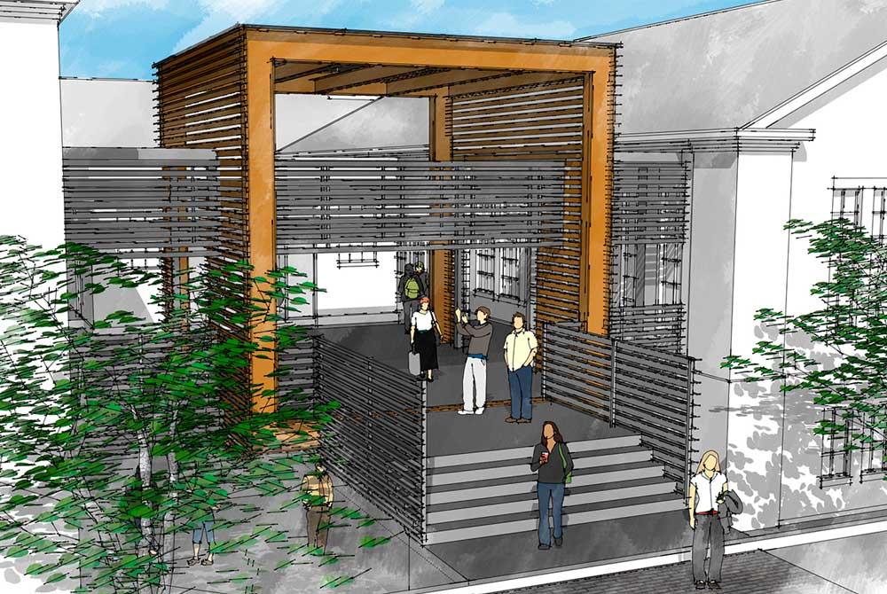 lsu studio arts building render