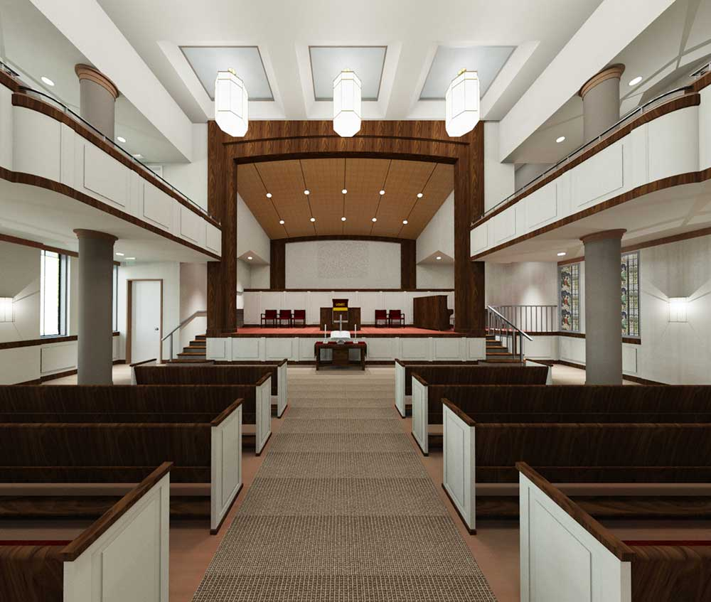 gregory switzer, Union Grove Church, schematic/concept