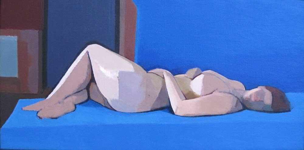 Diagonal Twist Study, 2012, by Andy Pankhurst