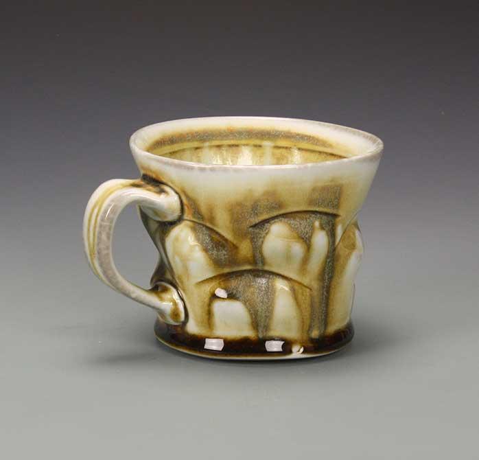 lsu mfa ceramics mug