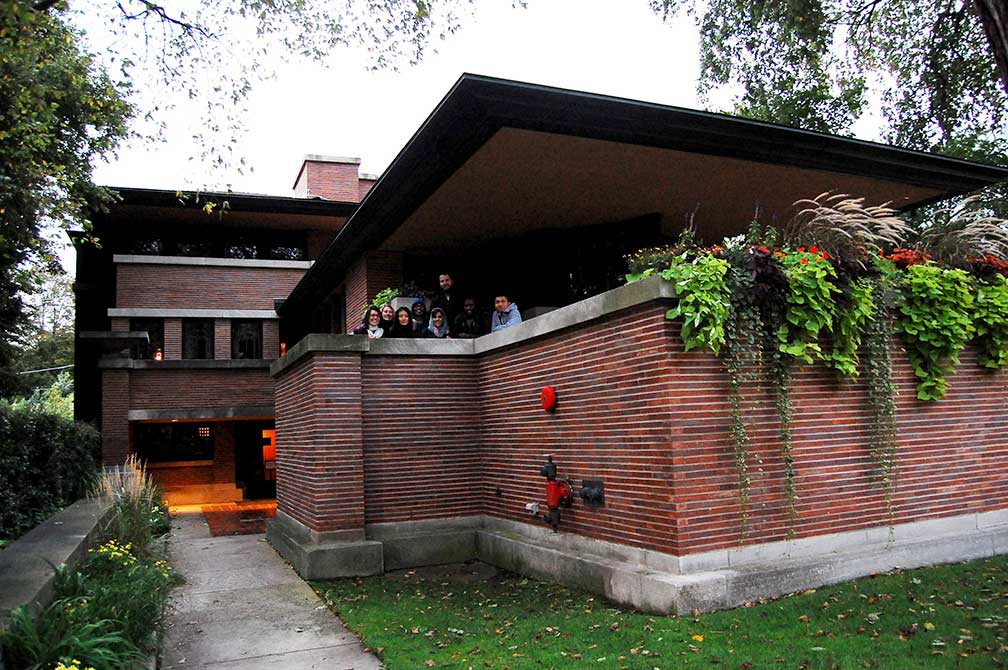 lsu in chicago, robie house