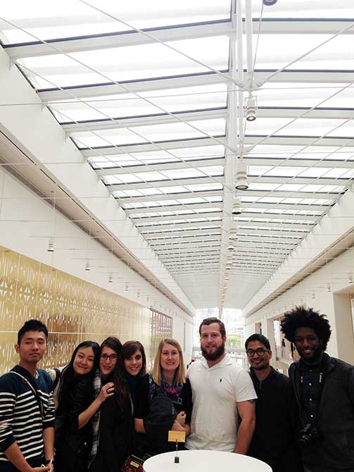 lsu in chicago, ARCH 7003 students