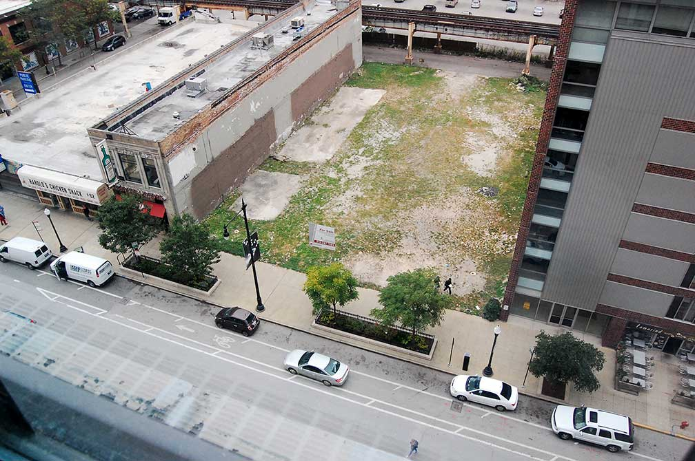 lsu in chicago, project site