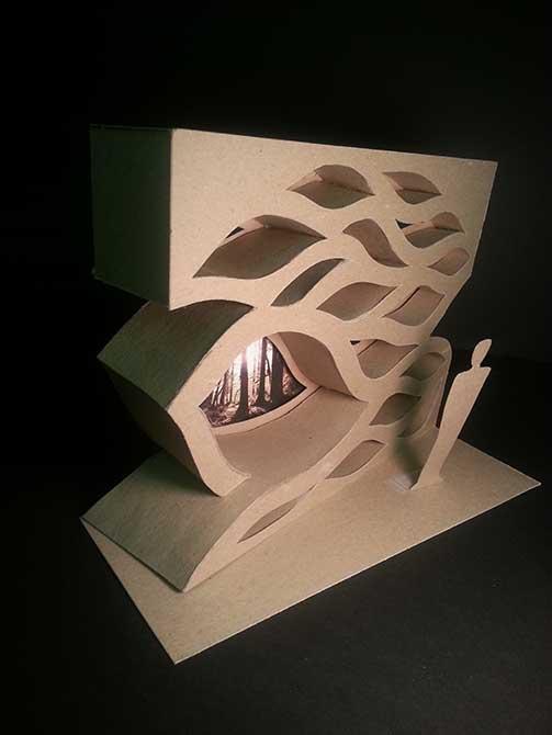 Sculpture, lsu interior design student work