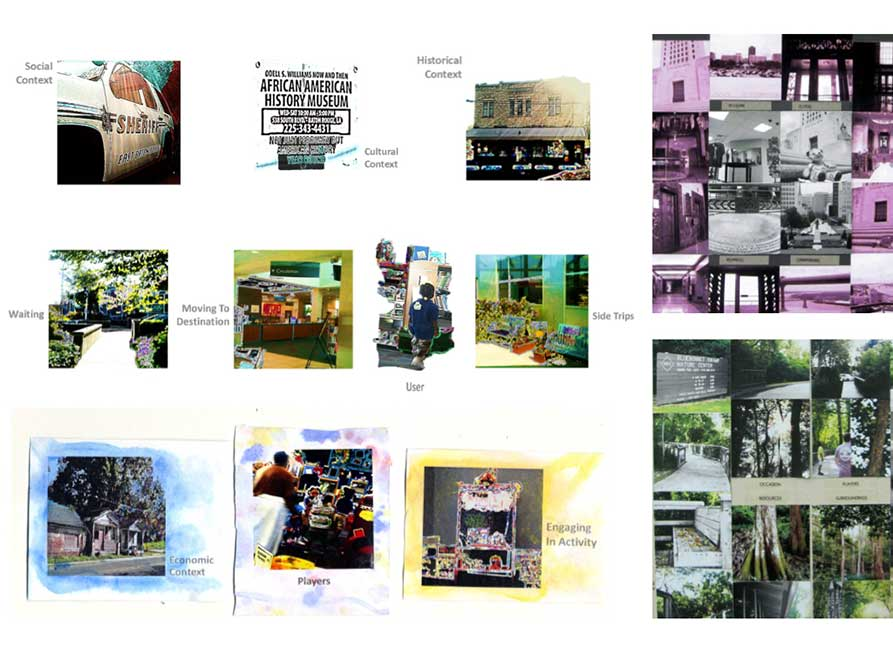 Building ritual images, lsu interior design student work