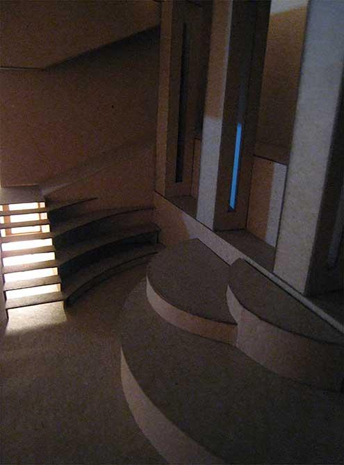 whitnee marchand light well, lsu interior design student work
