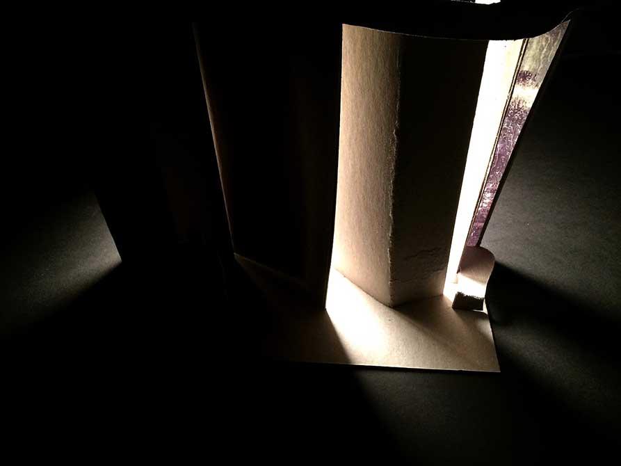 light well, myrna padilla, Illuminated wall, su interior design student work