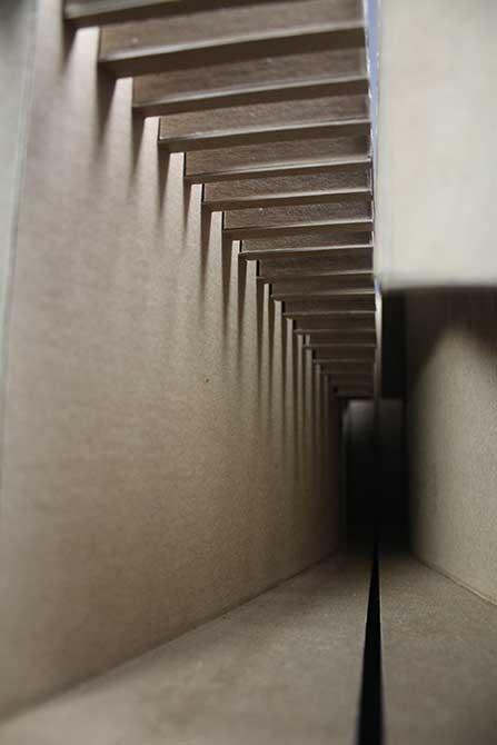 lsu interior design student work model light study