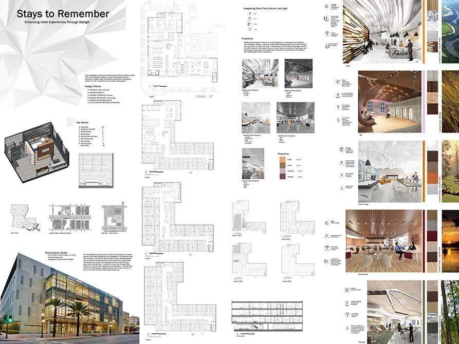 Floorplans. lsu interior design student work