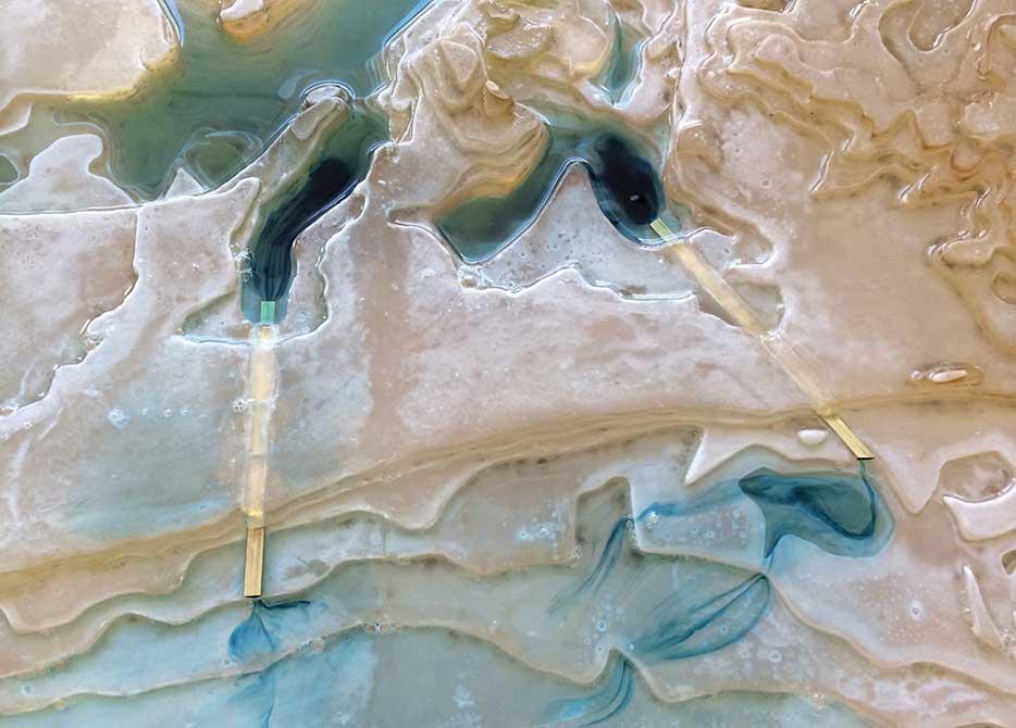 catherine seavitt nordenson, edgmere resin model
