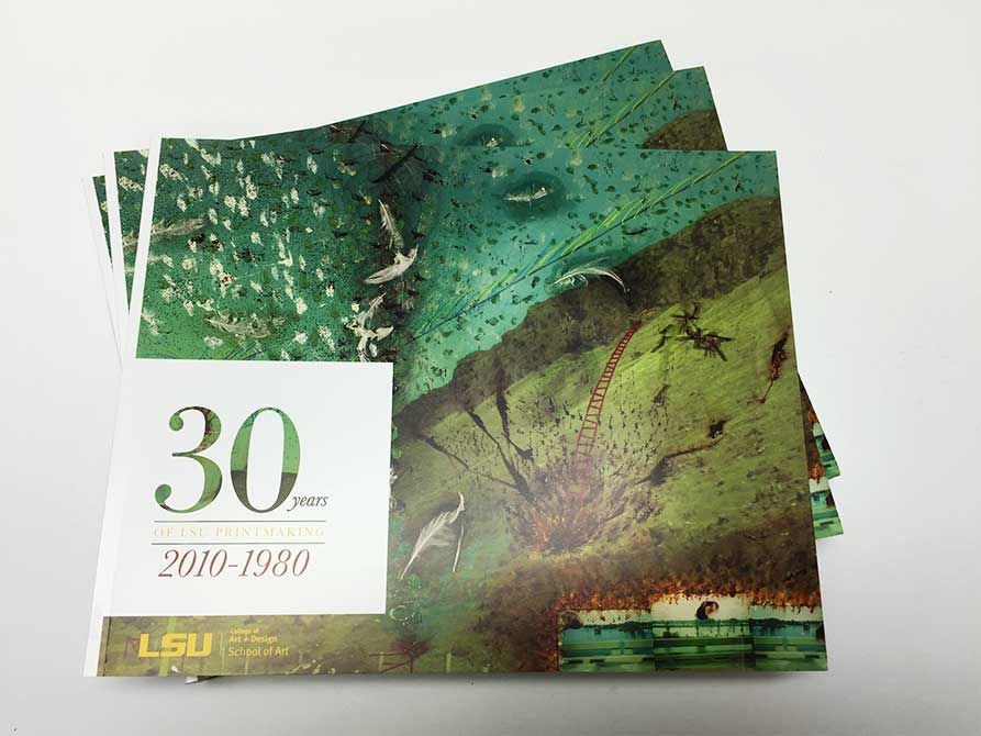 Cover of 30 Years of LSU Printmaking