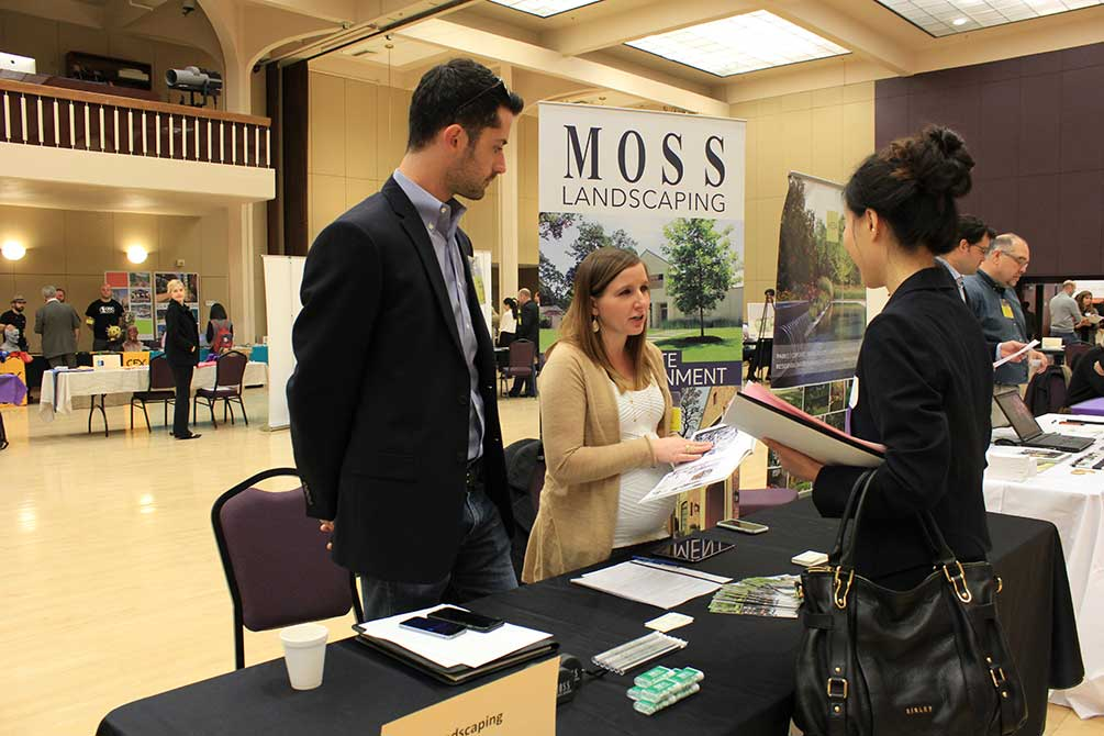 moss landscaping, 2016 art and design networking day