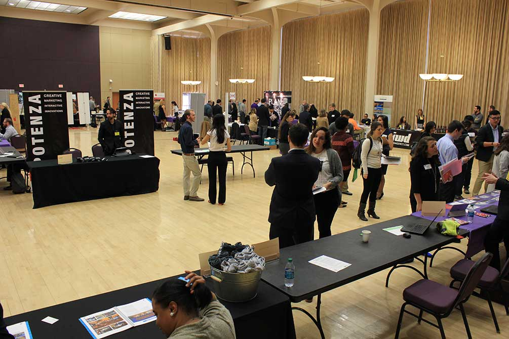 LSU union ballroom, 2016 art and design networking day
