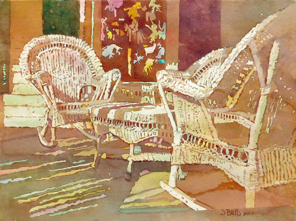 judi betts, rendezvous painting