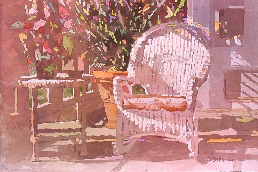 judi betts sun day painting