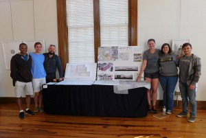 LSU's team received best in show at the Hattiesburg Arts Council design charette, hattiesburg arts council