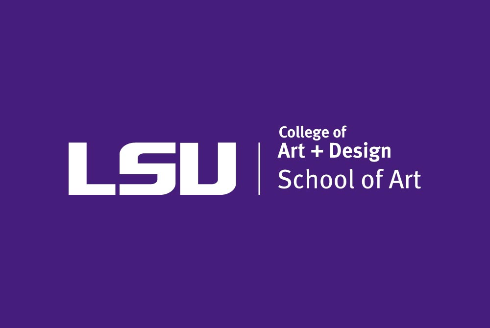 LSU College of Art and Design School of Art Logo