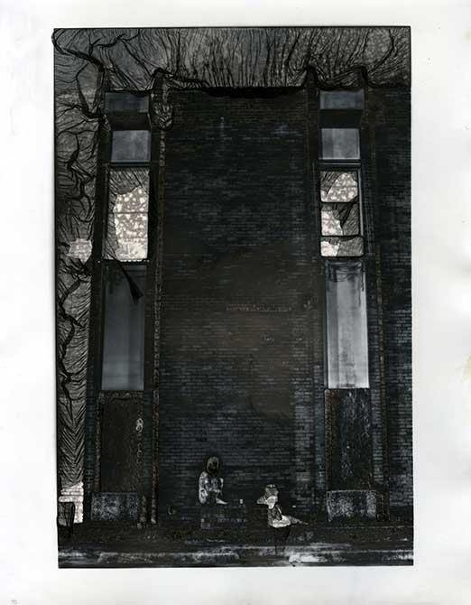 Dark print. lsu photography student work