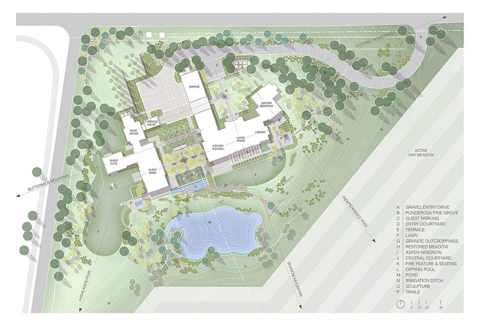 ranch intervention on site plan, 2016 asla awards