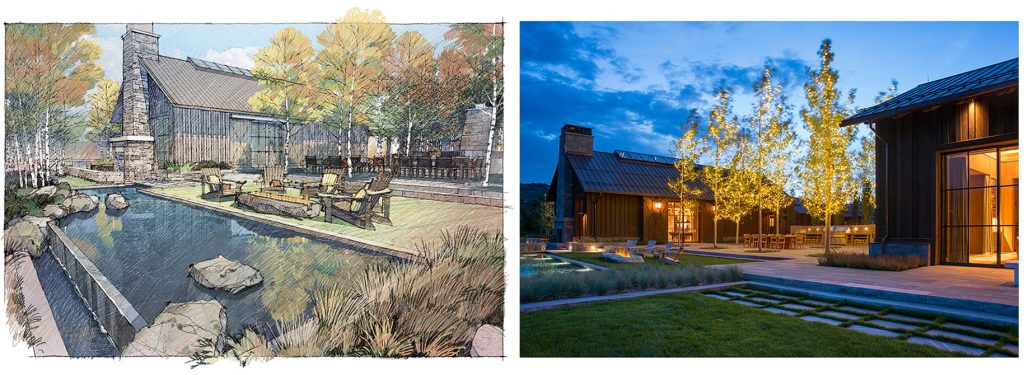 2016 asla awards, DBX ranch concept and realized