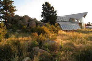 green mountain ranch sunset