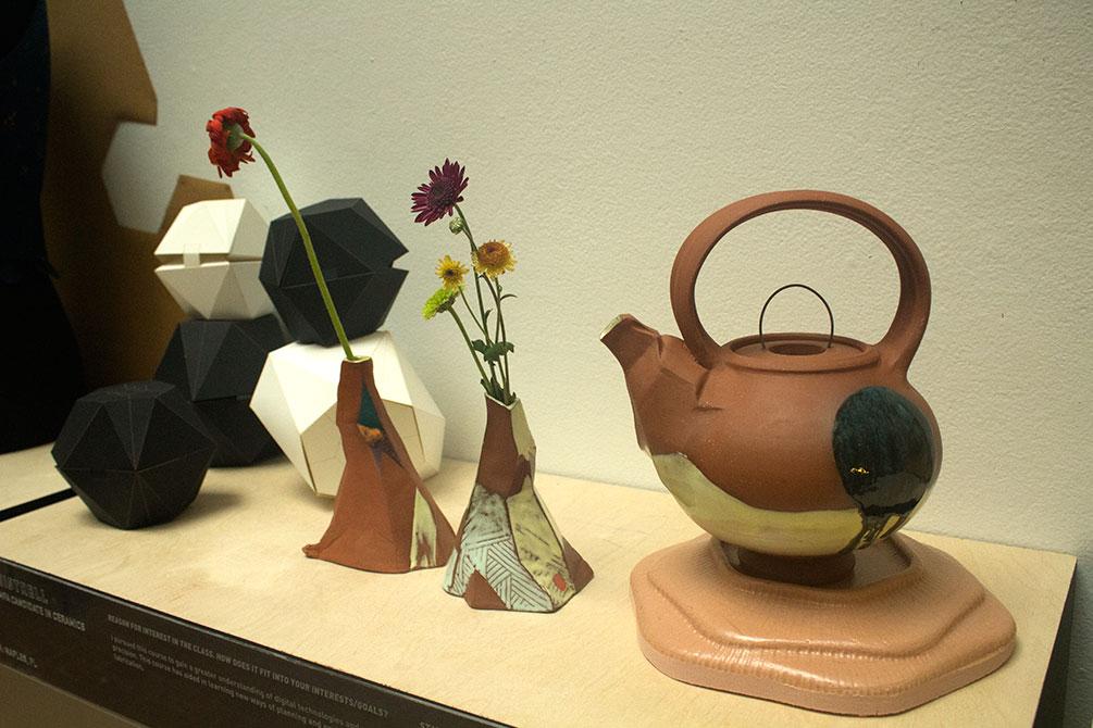 paul callahan ceramics display