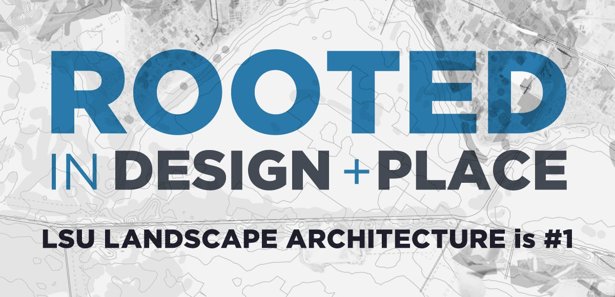 lsu landscape architecture ranked #1