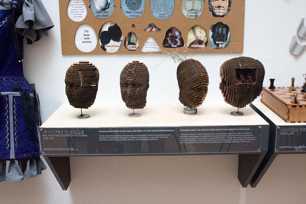 paul callahan cardboard head sections