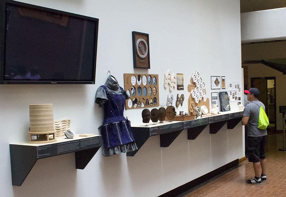 paul callahan exhibit design atrium