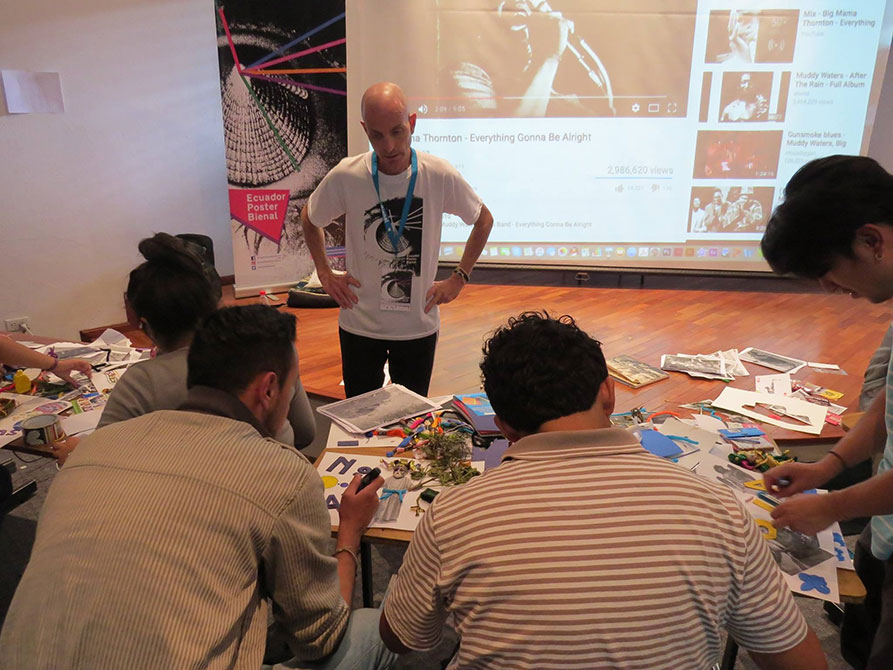 richard doubleday, Students working in a studio