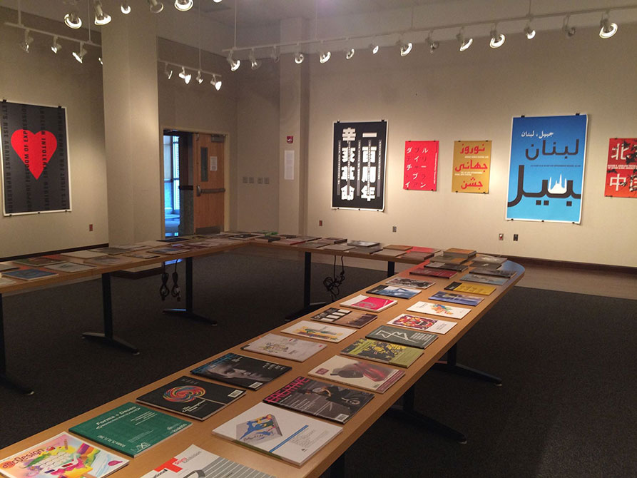 Posters on display in A Universal Language of Vision