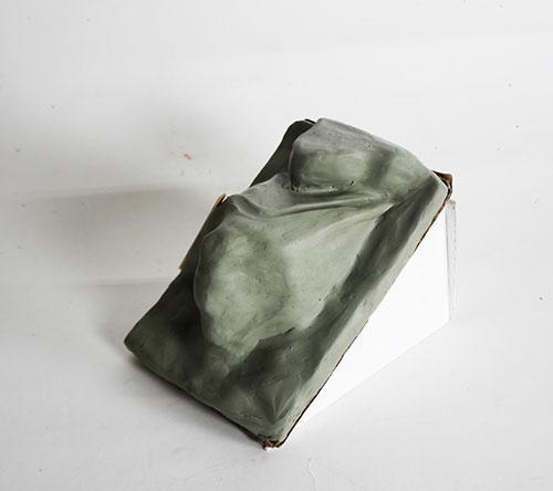 Grey clay model
