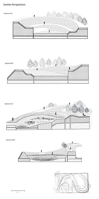 LSU landscape architecture section perspectives
