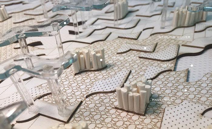 LSU landscape architecture model