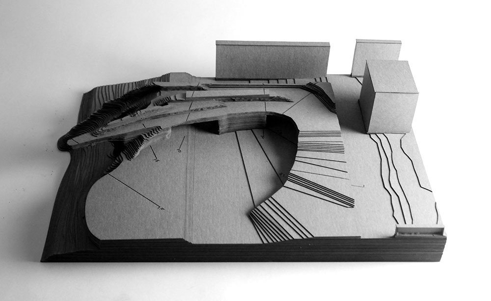 LSU landscape architecture model